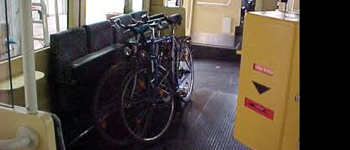 Cycles on Trams