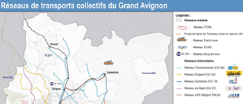Transport development plan for the Greater Avignon